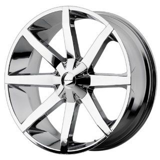 26x10 KMC Slide (Chrome) Wheels/Rims 6x135/139.7 (KM65126067228