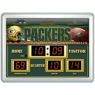 Green Bay Packers Scoreboard
