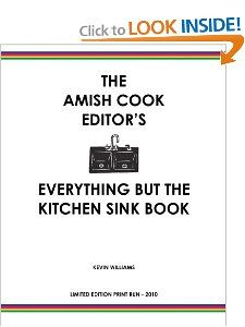 The Amish Cook Everything But The Kitchen Sink Book limited edition