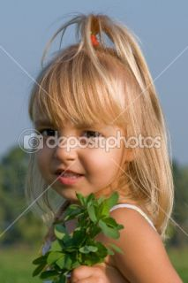 Portrait of the little girl  Stock Photo © Denys Prokofyev #1423525