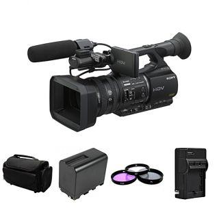 Sony HVR Z5U Digital HD Video Camera Recorder Bundle Today $3,802.99