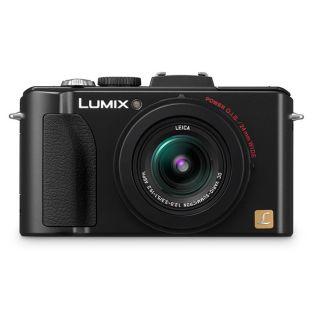 Panasonic Lumix DMC LX5 10.1MP Black Digital Camera