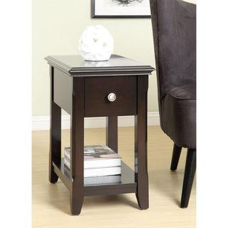 Dark Espresso Side Table