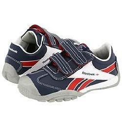 Reebok Kids Ultra Versaflex Low (Infant/Toddler) Athletic Navy/Pure