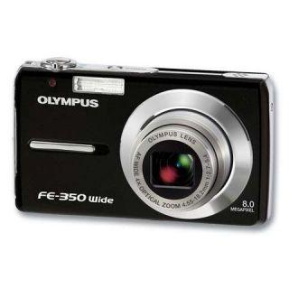 OLYMPUS FE 350 Black pas cher   Achat / Vente appareil photo