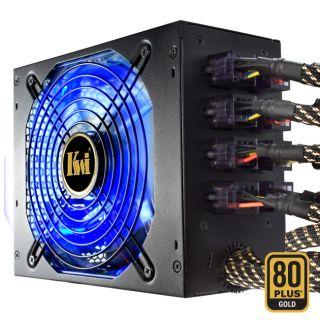 Kingwin LZG 1300 Lazer Gold Series 1300 Watt Power Supply with Modular