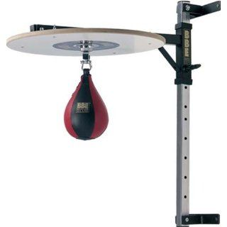 BBE by York Fitness Punchingball, schwarz/rot, 8 Sport