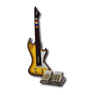 React Legacy Guitar and Star Power/Whammy Bar Dual Pedal for PS3