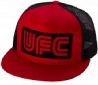 UFC 145 Jon Jones Marquee Trucker Hat Flame Red Color Cap
