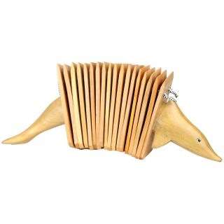 Dolphin Mahogany Wood Clacker Percussion Instrument (Indonesia) Today