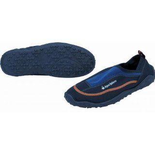 Aquatics Herren Strandschuh Lione, blau/orange Sport