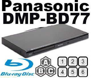 PANASONIC DMP BD77 CodeFree Blu ray Player MultiZone