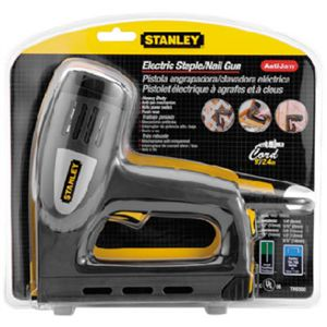 Stanley Bostitch TRE550 Heavy Duty Electric Nail Gun Stapler