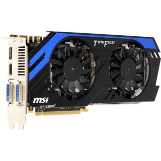 MSI N670 PE 2GD5/OC GeForce GX 670 Graphic Card   1019 MHz Core   2