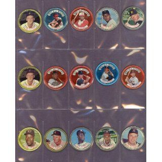 1964 Topps Coins #142 Orlando Cepeda All Stars Giants (EX