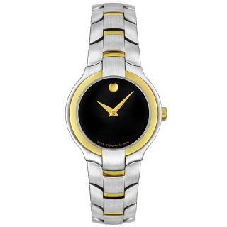 Movado Portico Ladies Two Tone Watch