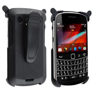 Black Swivel Holster for BlackBerry Bold 9900/ 9930