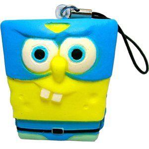 Spongebob Squarepants Soft Squeeze Charm Strap Figure
