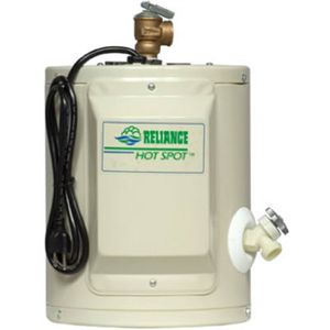 Reliance Water Heater CO 1 2 1SUS K 2 Gallon Electric Water Heater