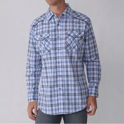 Empra Mens Plaid Long sleeve Shirt