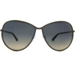 Tom Ford TF181 TF0181 Francesca 08B Shiny Dark Ruthenium Womens
