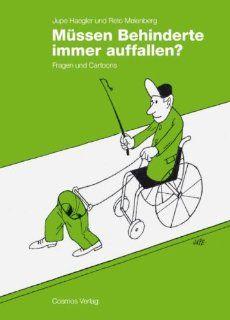 Müssen Behinderte immer auffallen? Fragen und Cartoons
