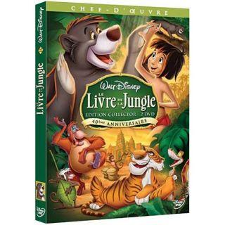 Le livre de la jungle en DVD DESSIN ANIME pas cher
