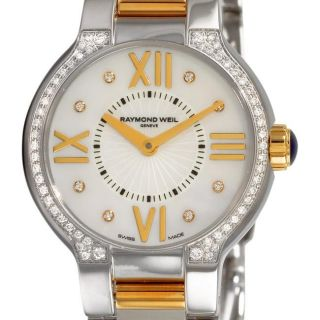 Raymond Weil Womens Noemia Two tone Diamond Watch