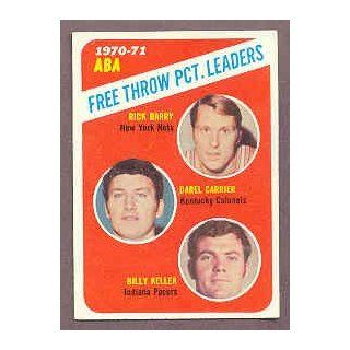 1971 72 Topps #149 Free Throw Leaders Rick Barry EX MT