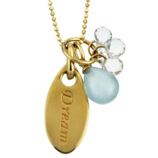 M2 by Mary Margrill 14k Gold Dream Petal Necklace