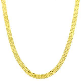 Fremada 14k Yellow Gold 20 inch Bismark Chain