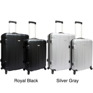 Travelers Choice TC3900 Rome 2 piece Hardside Spinner Checked Luggage