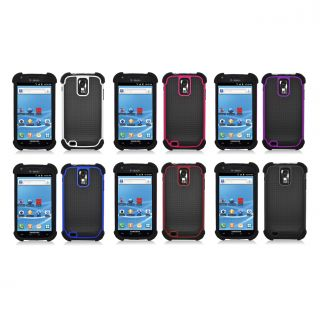 Samsung Galaxy S II T989 Hercules (T Mobile) Dimpled Dual Rubberized