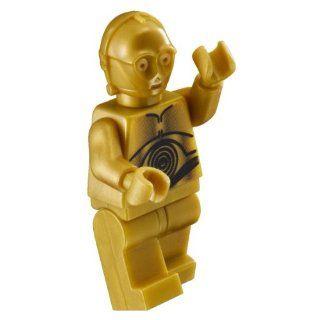 LEGO Star Wars Minifigur   C 3PO Gold Diese Figur ist nicht verklebt