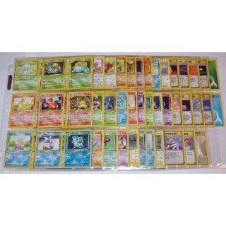 Pokemon COMPLETE Set of ORIGINAL 151/150 Cards (Contains Base, Jungle