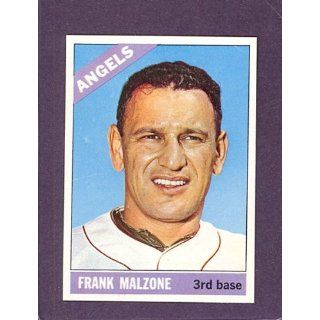 1966 Topps Proof #152 Frank Malzone Angels (VG