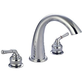 Huntington Roman Tub Filler Gooseneck Bathtub Faucet