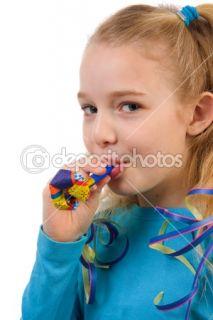 Birthday girl  Stock Photo © Sandra van der Steen #2175091