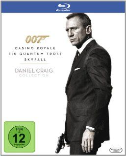 James Bond 007   Daniel Craig Collection [Blu ray] Daniel