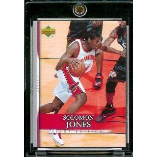 2007 08 Upper Deck First Edition # 144 Solomon Jones   NBA