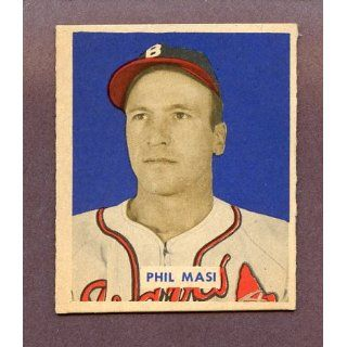 1949 Bowman #153 Phil Masi Braves EX MT 198515 Kit Young