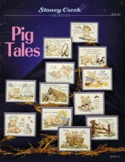 Pig Tales (Charted Cross Stitch) (Book 153) Stoney Creek collection