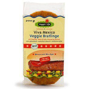 Veggie Life Viva Mexico Veggie Bratlinge 200g Lebensmittel