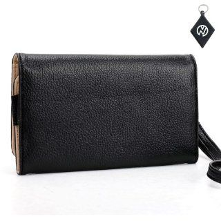 T Mobile Samsung Galaxy S2 S II T989 Wallet Black Clutch