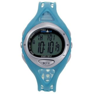 Timex Unisex Ironman Blue Rubber Strap Digital Watch
