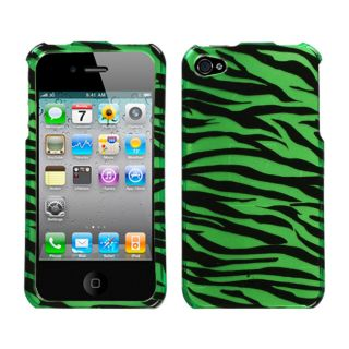 Green Zebra Case for Apple iPhone 4/ 4S