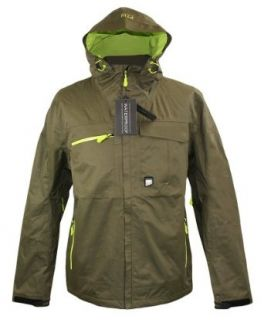 Jack & Jones TECH Jacke Strong 2 Layer cargo green: