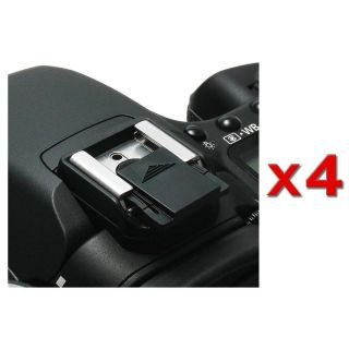 Camera Flashlight Hot Shoe Cover for Canon G9/ G10/ SX10 (Pack of 4