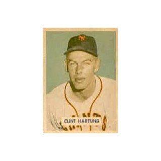 1949 Bowman #154 Clint Hartung   EX MT Collectibles