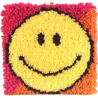 Caron Natura Smiley Face Latch Hook Kit (12 x 12) Today $8.06 4.0 (1